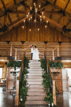 This gorgeous reception entrance for the bride and groom is seriously like Beauty and the Beast. I love it!!! Taken at THE SPRINGS in Denton, The Lodge Aubrey, TX // North Texas Wedding Photographer - Emily Nicole Photo