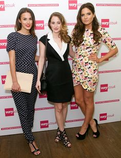 Fashionable friends: Made In Chelsea's Lucy Watson, RosieFortescue and Alexandra 'Binky' ...