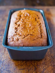 Cinnamon and Spice Sweet Potato Bread averiecooks.com... made this for Chris tonight and he said it was better than pumpkin bread!