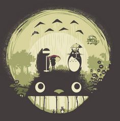 My Neighbor Totoro shirt