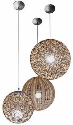 Lámparas fáciles de hacer - Hogar y estilo - Estampas