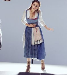 Emma W. Thailand: New pictures of Emma Watson as Belle in 'Beauty and the Beast Beauty And The Beast Costume, Belle Beauty And The Beast, Emma Watson Beauty And The Beast, Belle Cosplay, Belle Costume, Beauty And The Best, Real Beauty, All Fashion, Costume Design
