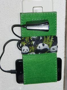 ber ideen zu handy ladestation auf pinterest mobiles handytasche und n hen. Black Bedroom Furniture Sets. Home Design Ideas