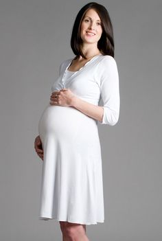 db479ea504 Versatile Breastfeeding Dress A delightfully versatile dress for day or  evening wear. This stylish v · Breastfeeding DressMaternity ...