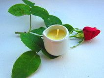 Massagekerze Rose