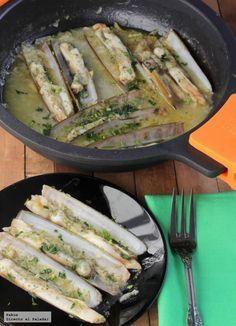 Cocina – Recetas y Consejos Fish Recipes, Seafood Recipes, Salad Recipes, Cooking Recipes, Healthy Recipes, Spanish Cuisine, Spanish Tapas, Spanish Food, Pescado Recipe