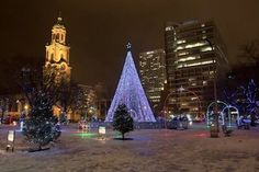 Christmas in Milwaukee at the Pere Marquette Park