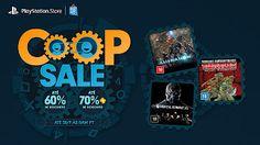 [PSN Promoção] Co-op Sale em jogos para PS4 PS3 e Vita !