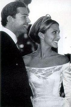 Prince Alexandre von Furstenberg with bride Alexandra Miller - The Newlyweds