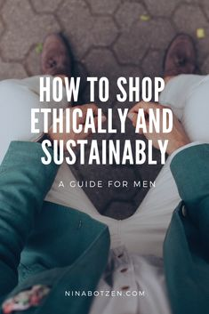 I know getting your way round sustainable fashion isn't always easy and especially when it comes to menswear it can be tough to get your hands on some cool brands. So following are some tips and ressources.