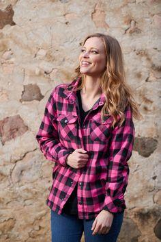 Women's Winter Cress Fleece Lined Shirt Jac. #LegendaryWhitetails
