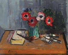 was a Romanian Post-Impressionist painter. Post Impressionism, Impressionist, Frasier Crane, Vermont, Still Life, Anemone, Image, Paintings, Google