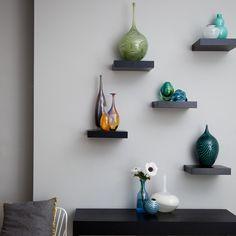 ACHADOS DE DECORAÇÃO - blog de decoração: NICHOS E PRATELEIRAS: decorando e organizando as paredes