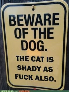 Must remember to print for psycho cat haha