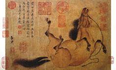 groom and horse zhao mengfu - Google'da Ara