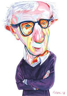 Woody Allen by Philip Burke,