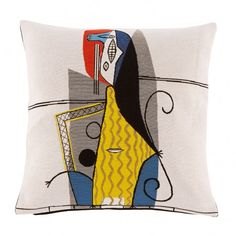 <p>Licensed by the Picasso Foundation, this jacquard cushion cover is crafted in France.</p>