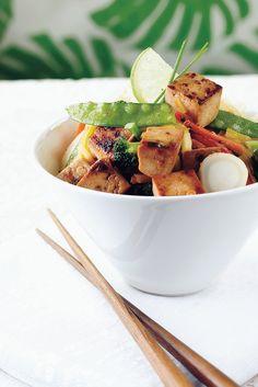 Tofuwokki | K-ruoka #kasvisruoka