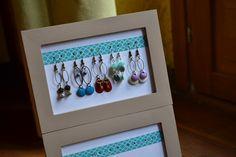 Support boucles d'oreilles pour exposition des bijoux libelula-crea