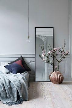 Bedroom Decor Design Ideas - Josh and Derek Home Bedroom, Bedroom Decor, Bedroom Mirrors, Bedroom Ideas, Design Bedroom, Nordic Bedroom, Bedroom Lighting, Dream Bedroom, Interior Minimalista