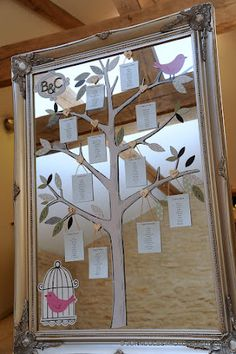 Tree table plan....gorgeous!