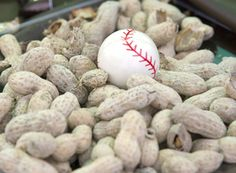 baseball centerpieces - Google Search