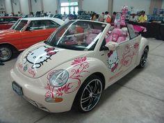 Hello Kitty VW Bug