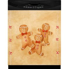 Shop for Appliance Art Holiday Gingerbread Man Combo Refrigerator/ Dishwasher Cover. Dishwasher Installation, Dishwasher Cover, Appliance Covers, Fancy Houses, Christmas Kitchen, Holiday Themes, Memorable Gifts, Gingerbread Man, Winter Holidays