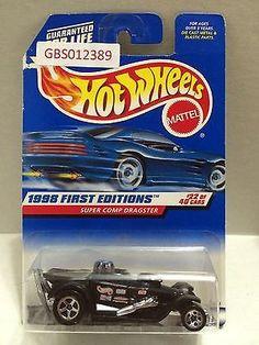 (TAS030875) - Mattel Hot Wheels Car - Super Comp Dragster