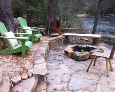 Eclectic Spaces Backyard Fire Pit Design, Pictures, Remodel, Decor and Ideas - page 2