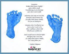Father's Footsteps Poem