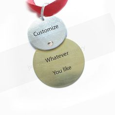 Snowman Customize Hand Stamped Ornament Christmas by JSCJewelry, $28.00