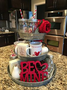 33 Awesome Valentine Crafts For Your Home Decor - Valentine's Day is adorned with numerous craft specialties. Handmade crafts infuse Valentine's Day with a special color. Numerous easy-to-make craft i. Valentine's Home Decoration, Diy Valentine's Day Decorations, Valentines Day Decorations, Valentine Day Crafts, Happy Valentines Day, Decor Ideas, Valentine Ideas, Valentine Tree, Valentine Stuff