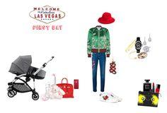 """Las Vegas 1st day"" by paolaminchella on Polyvore featuring mode, Gucci, Hermès, Evian, Tartine et Chocolat, Cartier, Brixton, Chanel, Atelier Paulin et Bloomingdale's"