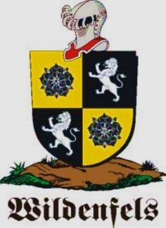 Wildenfels Family Crest / Wildenfels Coat of Arms [Personalized Gifts – Your own Family Crest order now ]