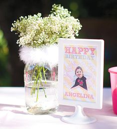 Heavenly Little Angel Birthday Party {+ Adorable Bunnies}