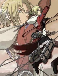 Anime Challenge- Day Nine- Best Anime  Villian- Annie Leonhardt