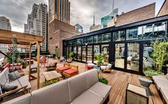 Refinery Rooftop @ Refinery Hotel