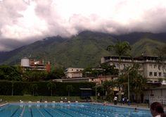 El Ávila desde el Colegio San Ignacio.  Caracas