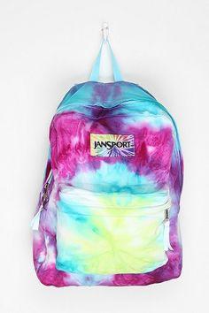 Jansport DIY Tie-Dye Backpack! I want it I want it I want it!!!!