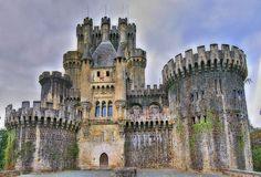 Butron Castle, Gatika, Spain.