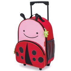 {Oh, Baby!} Skip Hop Zoo Luggage Ladybug. @Sarah Nasafi Grayce #laylagrayce #newarrival #baby #skiphop