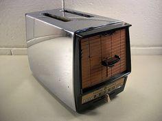 Vintage Toaster Vintage Chrome Toaster Vintage Kitchen
