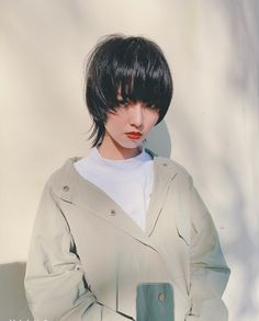 Tomboy Hairstyles, Cute Hairstyles, Hair Inspo, Hair Inspiration, Korean Boys Hot, Korean Girl Fashion, Mullets, Boyish, Short Hair Styles
