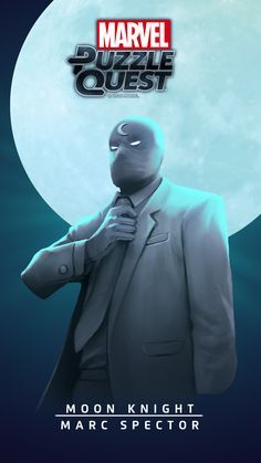 MOON KNIGHT (Marc Spector) | 4 Stars | Lunacy | Marvel PUZZLE QUEST