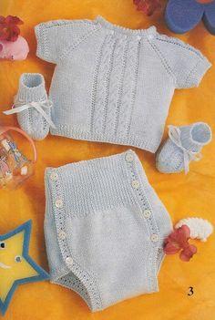 images attach c 8 101 110 Knitting For Kids, Crochet For Kids, Crochet Baby, Knit Crochet, Baby Sweater Knitting Pattern, Baby Knitting Patterns, Baby Patterns, Knitted Baby Clothes, Crochet Clothes