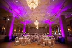 an elegant setting at the Royal York Hotel