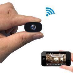 Wireless Security Camera System, Ip Security Camera, Security Surveillance, Security Cameras For Home, Wifi, Cell Phone App, Mini Spy Camera, Ip Camera, Spy Gear