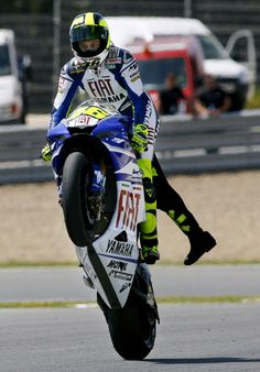 valentino rossi the best on two wheels...