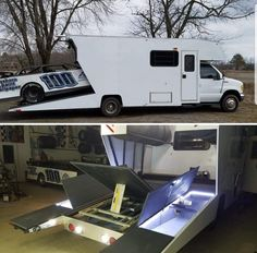 Car Trailer, Trailers, Custom Campers, Racing Quotes, Car Carrier, Recreational Vehicles, Cool Cars, Race Cars, Trucks